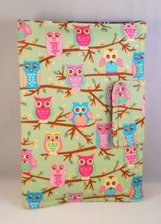 Kindle Fire HD Cases, iPad Mini Case, Cute Owls on Branches, Kindle Fire Case, Kindle Fire Cover, Personalized Kindle Case, for Owl Lovers by foreverandrea on Etsy