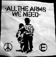 Flux All The Arms We Need Anarcho Punk Political DIY by massmedia, $2.50