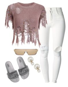 """""""Untitled #5544"""" by stylistbyair ❤ liked on Polyvore featuring (+) PEOPLE and Christian Dior"""