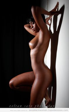 Black girls nude art model