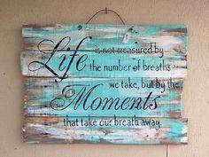 Life's important moments... wall art