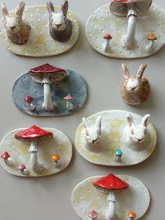 Ceramic Studio, Ceramic Clay, Ceramic Pottery, Pottery Art, Diy Clay, Clay Crafts, Arts And Crafts, Keramik Design, Clay Art Projects