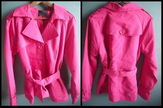 New pink trench coat from Vero Moda for sping/summer.