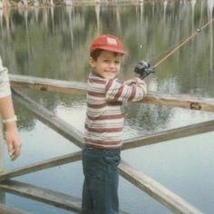 Easton Corbin fishing when he was little. Country Boys, Country Music, Easton Corbin, Dustin Lynch, Justin Moore, Jake Owen, Brantley Gilbert, Dierks Bentley, Thomas Rhett