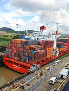 Cap Talbot in the Panama Canal