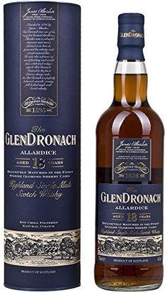 Glendronach  18 Year Old Allardice Highland Single Malt Scotch Whisky 70 cl No description (Barcode EAN = 5060088791691). http://www.comparestoreprices.co.uk/december-2016-6/glendronach-18-year-old-allardice-highland-single-malt-scotch-whisky-70-cl.asp