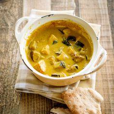 Curry de dinde aux aubergines