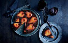 Spiced Pear Upside-Down Cake from @bonappetitmag #bonappetitmag