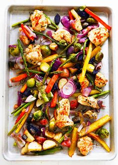 Spiced Sheet Pan Chicken and Veggies