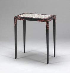 Table by Jean Dunand, ca. 1925.
