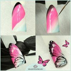3d Nail Art, Jolie Nail Art, Crazy Nail Art, Crazy Nails, Diy Nails, Cute Nails, Pretty Nails, Spring Nails, Summer Nails