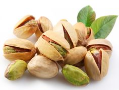These are always on hand - my favorite snack. Plus, Dr. Andrew Weil tells me they help with weight control because the shells keep you aware of how much you've eaten. They also have lots of healthy vitamins and minerals.