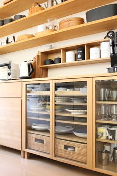 Home Interior Design Cafe Interior, Kitchen Interior, Home Interior Design, Kitchen Flooring, Kitchen Furniture, Kitchen Dining, Kitchen Shelves, Kitchen Storage, Kitchen Cabinets