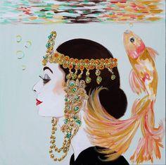 Art Deco Audrey Underwater