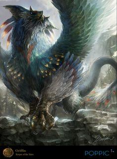 Dragon à plumes