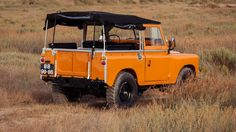 LandRover Series orange