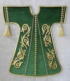 . Abaya Pattern, Turkish Art, Islamic Art Calligraphy, Oriental Design, Tribal Patterns, Gold Work, Vintage Maps, Gold Paint, String Art