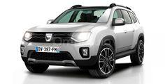 Dacia Duster 2017 Render