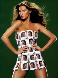 gisele budchen - wearing my photos over her body edited by photofunia Grid Girls, Selfies, Gisele Bundchen, Dress Picture, Photo Editor, Supermodels, Catwalk, High Fashion, Women's Fashion