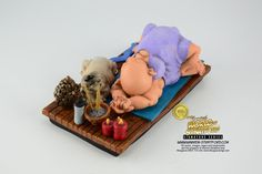 This is a Yogi collectible figurine. It is the perfect gift for Fathers Day, retirement, birthday or event. Warren Stratford http://www.warren-stratford.com/who-is-warren-stratford/  is the master of the collectible figurine.  Warren Stratford www.warren-stratford.com is the world's most loved comic artist. His collectible figurines are sold in the best retail and online shops in the world.