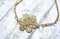 Armbänder - ✼ Sommerblümchen ✼ Armband - ein Designerstück von LiAnn-Versand bei DaWanda