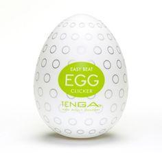Tenga Egg Clicker fra Tenga - Sexlegetøj leveret for blot 29 kr. - 4ushop.dk - TENGA - betyder elegant, raffineret, yndefuldt, pænt på japansk - beskriver Tenga produkterne perfekt. Tenga produkterne er stilfulde, inovative og sjove. TENGA giver en verden af ekstraordinære seksuelle oplevelser gennem top ingeniørkunst og fineste kvalitet materialer. TENGA produkter er det bedst sælgende sexlegetøj til mænd i Japan, og dens popularitet er øget hurtigt i resten af verden.