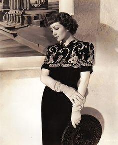 Claudette Colbert, 1941
