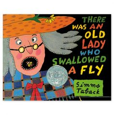 There was an Old Lady who Swallowed a Fly - Penguin Classic Kids Books -I used to love this story.