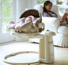Graco Sweetpeace Newborn Soothing Center      4 seating positions, 3 reclines…