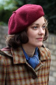 """Marion Cotillard - """"Five Seconds Of Silence"""" - On Set - March 2016 Marion Cotillard Allied, Marion Cotillard Hair, Marion Cottillard, Audrey Tautou, French Actress, French Girls, Portraits, Parisian Chic, 1940s Fashion"""