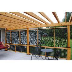 Pergola Ideas For Deck Diy Pergola, Small Pergola, Pergola Swing, Deck With Pergola, Covered Pergola, Pergola Kits, Small Patio, Pergola Roof, Pergola Plans
