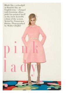 Cara Delevingne by Walter Pfeiffer for Vogue UK September 2013