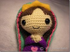 "Virgin Mary - CROCHET- Another ""just for inspiration"" pin!"