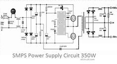 3000w stereo power amplifier circuit
