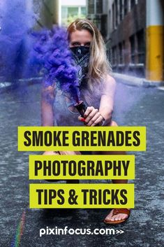 Smoke bomb photography or smoke grenade photography allows you to create exciting shots. Read this article and learn how to create colorful and stunning photographs in no time! Smoke Bomb Photography, Photography Basics, Photography Tips For Beginners, Photography Tutorials, Creative Photography, Scenic Photography, Night Photography, Landscape Photography, Color Smoke Bomb