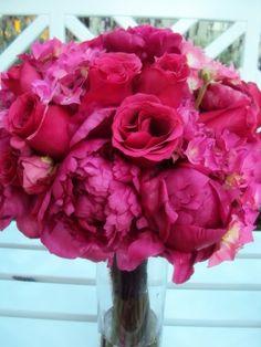Love rosas y peonias súper in para las novias de mayo en México!