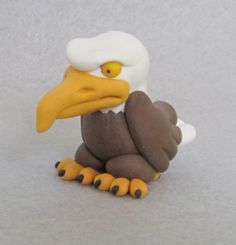 polymer clay eagles | 4th of July Bird in Polymer Clay « My Creativitis