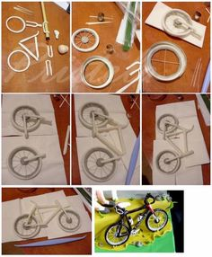 Querido Refúgio Tutorial: Bicicleta