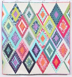 You have to see Fox Field Mystery Quilt from Tula Pink by Abby Norton Krane!