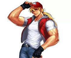 Street Fighter 1, Capcom Street Fighter, Street Fighter Characters, Terry Fatal Fury, Terry Bogard Fatal Fury, Character Poses, Comic Character, Game Character, Character Design