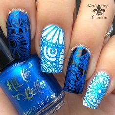 """Image of """"Blue-tiful"""" stamping polish"""