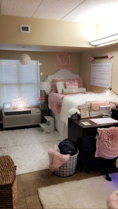 Dorm Room Decor for Guys . Dorm Room Decor for Guys . Dormify for Guys Love This Dormified Dorm Room for Your Girls Bedroom, Bedroom Decor, Bedroom Ideas, Warm Bedroom, Bedroom Storage, Bedroom Inspo, Girl Dorms, Dorm Room Designs, Cute Dorm Rooms