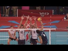 Men's Volleyball Pool B - BRA v USA | London 2012 Olympics