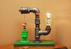 Isso é legal do dia: Luminária incrível com o tema Super Mario