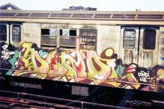 We are aware that there are so many great graffiti artist around the wold. However, we believe these are the World's Top 20 Most Famous Graffiti Artists. New York Subway, Nyc Subway, Subway Art, Graffiti History, New York Graffiti, 3d Street Art, Street Art Graffiti, Famous Graffiti Artists, Sidewalk Chalk Art