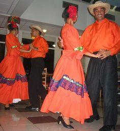 El merengue en la República Dominicana.