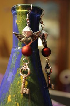 Steam-punk earrings - -  Jewel Mundy Impressions