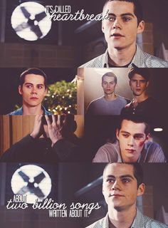 Teen Wolf. aha stiles:) always knows a way to make us laugh. :P
