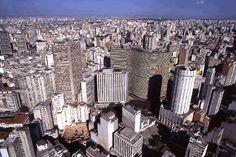 Restaurantes de vários países no centro de São Paulo