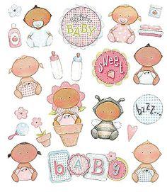laminas de bebes para imprimir